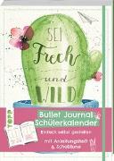 Cover-Bild zu Bullet Journal Schülerkalender - Sei frech von Grissemann, Kathrin