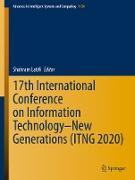 Cover-Bild zu Latifi, Shahram (Hrsg.): 17th International Conference on Information Technology-New Generations (ITNG 2020) (eBook)