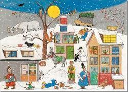 Cover-Bild zu Adventskalender Weihnachten in Wimmlingen von Berner, Rotraut Susanne