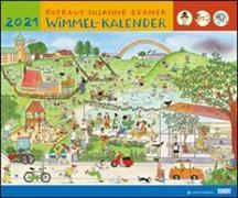 Cover-Bild zu Wimmel-Kalender 2021 - DUMONT Kinderkalender - Wandkalender 58,4 x 48,5 cm - Spiralbindung von DUMONT Kalenderverlag (Hrsg.)