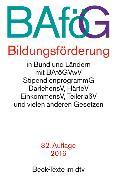 Cover-Bild zu BAföG Bildungsförderung