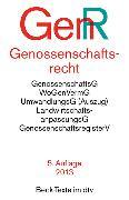Cover-Bild zu Genossenschaftsrecht GenR