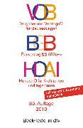 Cover-Bild zu VOB BGB HOAI