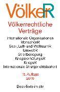 Cover-Bild zu Völkerrechtliche Verträge von Dörr, Oliver (Hrsg.)