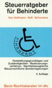 Cover-Bild zu Steuerratgeber für Behinderte von Hoffmann, Hans J.