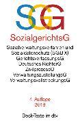 Cover-Bild zu SGG / SGB X Sozialgerichtsgesetz Sozialverwaltungsverfahren und Sozialdatenschutz