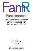 Cover-Bild zu Familienrecht