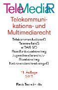 Cover-Bild zu Telemediarecht Telekommunikations- und Multimediarecht
