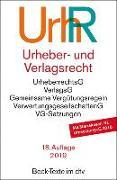 Cover-Bild zu Urheber- und Verlagsrecht