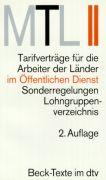 Cover-Bild zu MTL II.Mantel-Tarifverträge für die Arbeiter der Länder Öffentlichen von Beck, Thomas