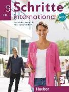 Cover-Bild zu Hilpert, Silke: Schritte international Neu 5. Kursbuch+Arbeitsbuch+CD zum Arbeitsbuch