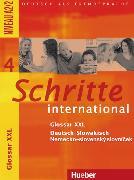 Cover-Bild zu Hilpert, Silke: Schritte international 4. A2/2. Glossar XXL Deutsch-Slowakisch