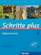 Cover-Bild zu Hilpert, Silke: Schritte plus 3. A2/1. Kursbuch + Arbeitsbuch + Österreich EXTRA mit Audio-CD
