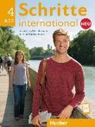 Cover-Bild zu Hilpert, Silke: Schritte international Neu 4. Kursbuch+Arbeitsbuch+CD zum Arbeitsbuch