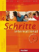 Cover-Bild zu Hilpert, Silke: Schritte international 4. A2/2. Kurs- und Arbeitsbuch mit Audio-CD und Glossar XXL Deutsch - Tschechisch