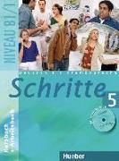 Cover-Bild zu Hilpert, Silke: Schritte 5. B1/1. Kursbuch und Arbeitsbuch mit Audio-CD zum Arbeitsbuch