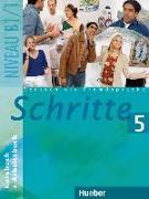 Cover-Bild zu Hilpert, Silke: Schritte 5. Kurs- und Arbeitsbuch