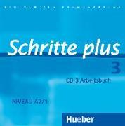 Cover-Bild zu Hilpert, Silke: Schritte plus 3. A2/1. Audio-CD zum Arbeitsbuch
