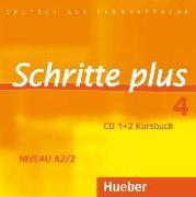 Cover-Bild zu Hilpert, Silke: Schritte plus 4. A2/2. Audio-CDs zum Kursbuch