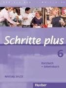 Cover-Bild zu Hilpert, Silke: Schritte plus 06. Kursbuch + Arbeitsbuch