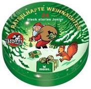 Cover-Bild zu black stories Junior - Rätselhafte Weihnachten von Harder, Corinna