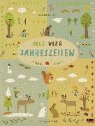 Cover-Bild zu Alle vier Jahreszeiten - 100% Naturbuch von Wiehle, Katrin
