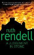 Cover-Bild zu Rendell, Ruth: A Judgement in Stone
