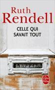 Cover-Bild zu Rendell, Ruth: Celle qui savait tout