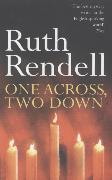 Cover-Bild zu Rendell, Ruth: One Across, Two Down