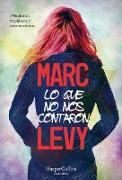Cover-Bild zu Levy, Marc: Lo que no nos contaron (What They Didn't Say to Us - Spanish Edition)
