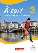 Cover-Bild zu À toi! 3. Schülerbuch von Herzog, Walpurga