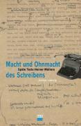 Cover-Bild zu Ludwig, Janine: Macht und Ohnmacht des Schreibens