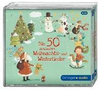 Cover-Bild zu Die 50 schönsten Weihnachts- u. Winterlieder (3CD) von Various