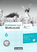 Cover-Bild zu Schlüssel zur Mathematik 6. Schuljahr. Differenzierende Ausgabe. Handreichungen für den Unterricht, Kopiervorlagen mit CD-ROM. SH von Breucker, Thomas