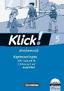 Cover-Bild zu Klick! Mathematik 5. Schuljahr. Kopiervorlagen von Breucker, Thomas