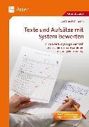 Cover-Bild zu Texte und Aufsätze mit System bewerten von Pohlmann, Stefanie