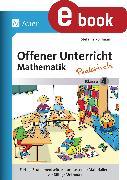 Cover-Bild zu Offener Unterricht Mathematik - praktisch Klasse 4 (eBook) von Pohlmann, Stefanie