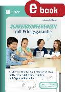 Cover-Bild zu Schreibkonferenzen mit Erfolgsgarantie (eBook) von Pohlmann, Stefanie
