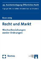 Cover-Bild zu Towfigh, Emanuel V. (Hrsg.): Recht und Markt