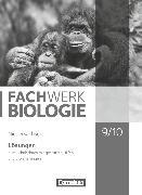 Cover-Bild zu Hampl, Udo: Fachwerk Biologie, Niedersachsen, 9./10. Schuljahr, Lösungen zum Schülerbuch, Mit gestuften Hilfen und Erweiterungen