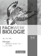 Cover-Bild zu Hampl, Udo: Fachwerk Biologie, Niedersachsen, 7./8. Schuljahr, Lösungen zum Schülerbuch, Mit gestuften Hilfen und Erweiterungen