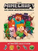 Cover-Bild zu Mojang: Minecraft, Das große Abenteuer-Stickerbuch