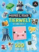 Cover-Bild zu Mojang: Minecraft Tierwelt Stickerbuch