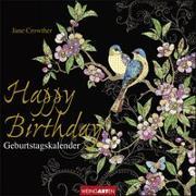 Cover-Bild zu Jane Crowther - Geburtstagskalender Happy Birthday