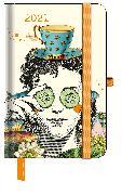 Cover-Bild zu GreenLine Diary Fabulous World of PABUKU 2021 - Buchkalender - Taschenkalender - 10x15