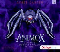 Cover-Bild zu Carter, Aimée: Animox 4. Der Biss der Schwarzen Witwe