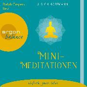 Cover-Bild zu Hoffmann, Ulrich: Mini-Meditationen (Audio Download)
