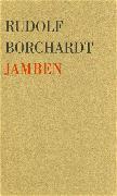 Cover-Bild zu Borchardt, Rudolf: Jamben