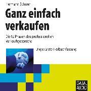 Cover-Bild zu Scherer, Hermann: Ganz einfach verkaufen (Audio Download)