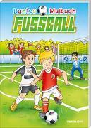 Cover-Bild zu Lohr, Stefan (Illustr.): Buntes Malbuch Fußball